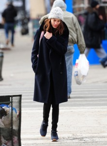 Celebrity Sightings In New York City - February 12, 2014