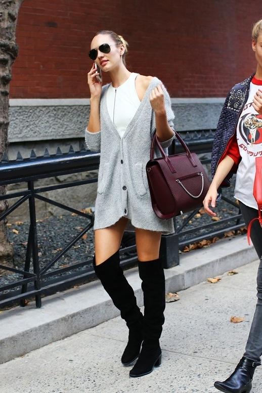 Le-Fashion-Blog-Candice-Swanepoel-Oversized-Cardigan-Model-Off-Duty-Street-Style-NYFW-Via-Vogue-edit